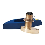 FURUNO B785M BRONZE THRU-HULL CHIRP TRANSDUCER W/HIGH SPEED FAIRING BLOCK