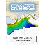 FURUNO CMOR MAPPING EAST GULF OF MEXICO F/TZTOUCH2