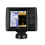 Garmin echoMAP CHIRP 53cv w/US LakeVü HD Maps  High Wide CHIRP 150-240kHz, ClearVü 455/800kHz - 4-Pin