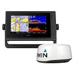 GARMIN GPSMAP 742XS PLUS TOUCHSCREEN GPS/FISHFINDER COMBO W/GMR 18HD+ RADAR