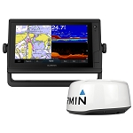 GARMIN GPSMAP 942XS PLUS TOUCHSCREEN GPS/FISHFINDER COMBO W/GMR 18HD+ RADAR