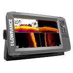 LOWRANCE HOOK²-9 CHARTPLOTTER FISHFINDER TRIPLESHOT TRANSDUCER W/BUILT-IN US INLAND CHARTS