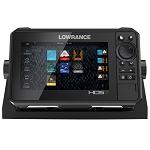 LOWRANCE HDS-7 LIVE W/ACTIVE IMAGING 3-IN-1 TRANSOM MOUNT C-MAP PRO CHART