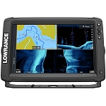 LOWRANCE ELITE-12 TI² INLAND W/ACTIVE IMAGING 2-IN-1 MID/HIGH SKIMMER  Y CABLE