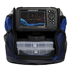 LOWRANCE HOOK REVEAL 7 CHARTPLOTTER/FISHFINDER ICE MACHINE W/SPLITSHOT TRANSDUCER