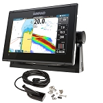 SIMRAD GO9 XSE CHARTPLOTTER/FISHFINDER W/MEDIUM/HIGH DOWNSCAN TRANSOM MOUNT TRANSDUCER