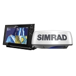 SIMRAD NSS12 EVO3 RADAR BUNDLE W/HALO20+ C-MAP