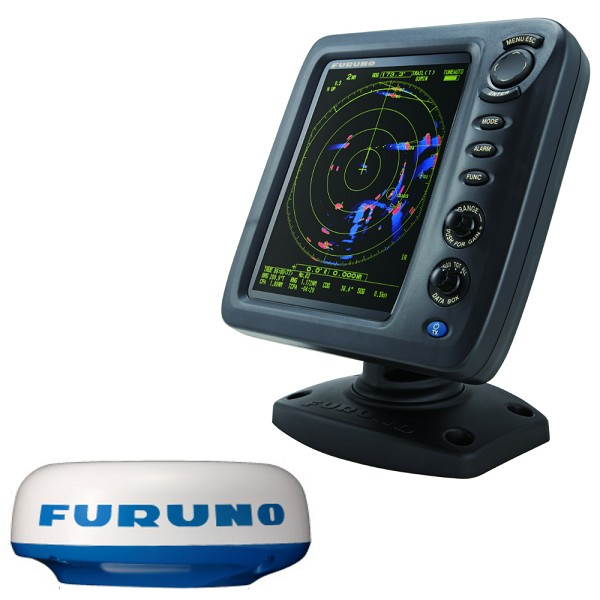 "Furuno 1815 8.4"" Color LCD 19"" 4kW Radar w/10M Cable"