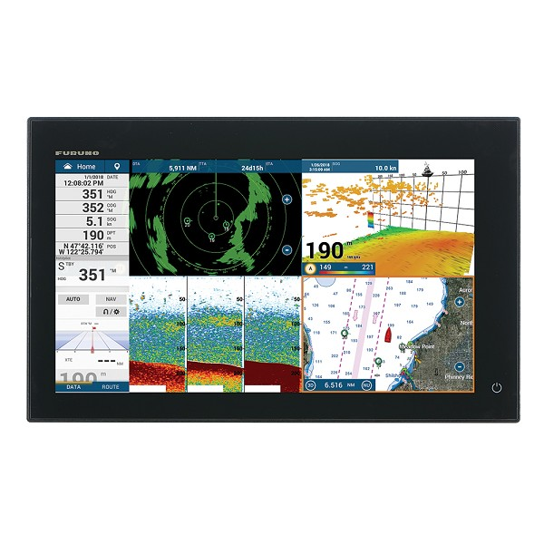 "FURUNO NAVNET TZTOUCH3 16"" MFD W/1KW DUAL CHANNEL CHIRP SOUNDER  INTERNAL GPS"