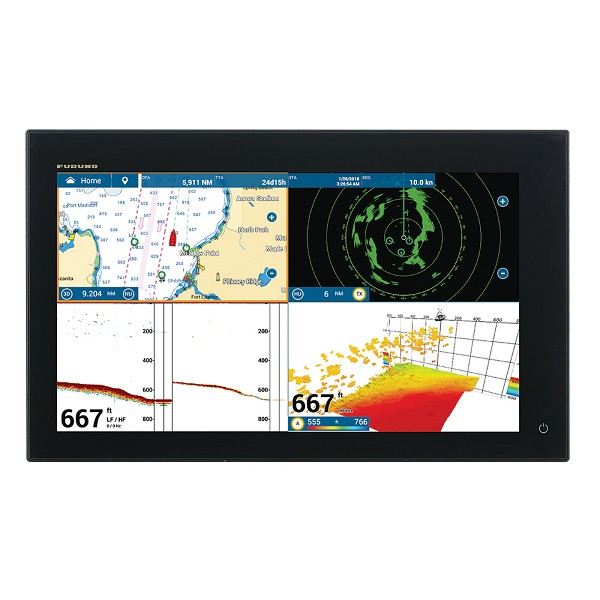 "FURUNO NAVNET TZTOUCH3 19"" MFD W/1KW DUAL CHANNEL CHIRP SOUNDER"