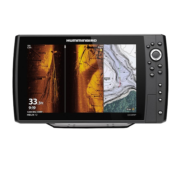 HUMMINBIRD HELIX 12 CHIRP MEGA SI FISHFINDER/GPS COMBO G3N DISPLAY ONLY