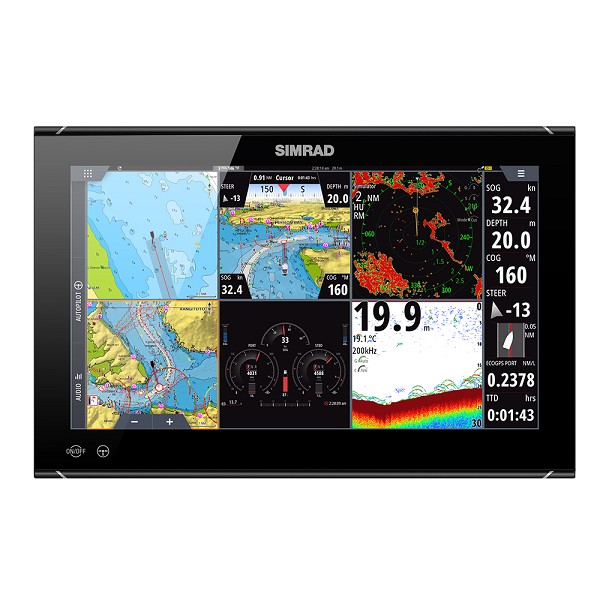 "SIMRAD NSO EVO3S 16"" MFD SYSTEM PACK"