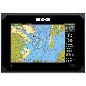 "B&G Vulcan 7 FS 7"" Insight Chartplotter/Fishfinder w/Forwardscan Capabilities"