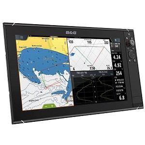 B&G Zeus3 16 Multifunction Display with Insight Chart