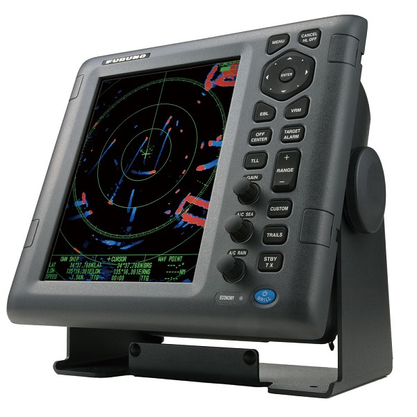 "Furuno 1835 4kW 10.4"" LCD Color Radar w/24"" Dome  15M Cable"