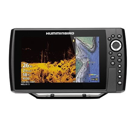 HUMMINBIRD HELIX 9 CHIRP MEGA DI FISHFINDER/GPS COMBO G3N DISPLAY ONLY