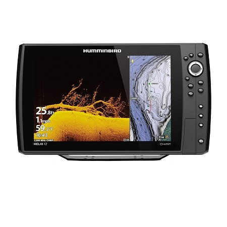 HUMMINBIRD HELIX 12 CHIRP MEGA DI FISHFINDER/GPS COMBO G3N - DISPLAY ONLY