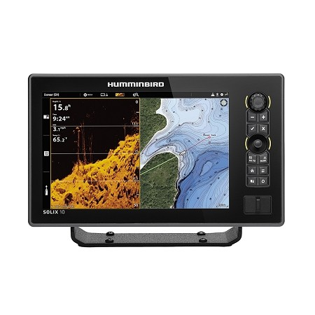HUMMINBIRD SOLIX 10 CHIRP MEGA DI FISHFINDER/GPS G2 - DISPLAY ONLY