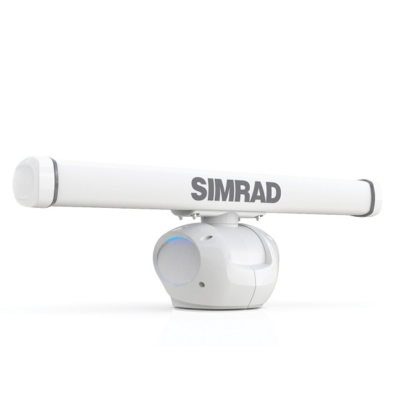 SIMRAD HALO-4 PULSE COMPRESSION RADAR W/4' ANTENNA RI-12 INTERFACE MODULE  20M CABLE